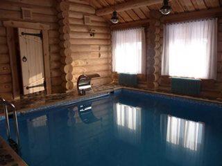 Строительство бани с бассейном в Волгограде
