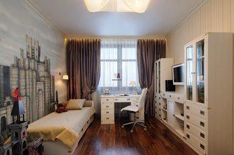 Дизайн интерьера комнаты в Волгограде