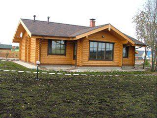 Проекты одноэтажных домов из бревна в Волгограде