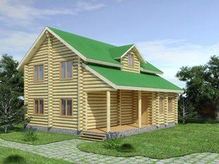 Проекты домов из бревна 5х7 в Волгограде