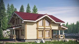 Проекты домов 10х10 из оцилиндрованного бревна в Волгограде