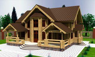 Проекты домов 10х12 из оцилиндрованного бревна в Волгограде