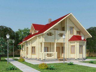 Проекты домов 11х11 из оцилиндрованного бревна в Волгограде