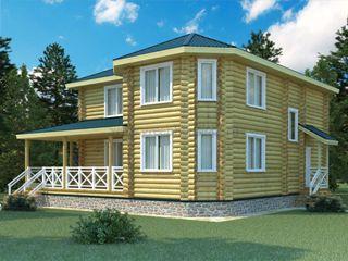 Проекты домов 12х12 из оцилиндрованного бревна в Волгограде