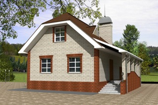 Проекты домов из кирпича 6х7 в Волгограде