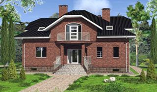 Проекты домов из кирпича 6х8 в Волгограде