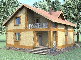 Проекты домов из кирпича 7х8 в Волгограде