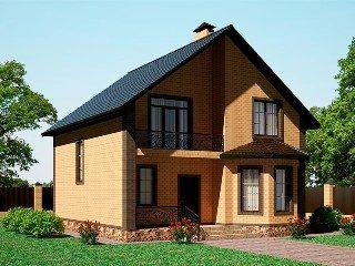Проекты домов из кирпича 8х9 в Волгограде
