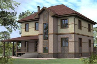 Проекты домов из кирпича 8х10 в Волгограде