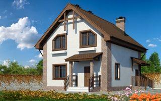 Проекты домов из кирпича 9х9 в Волгограде