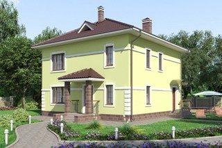 Проекты домов из кирпича 10х10 в Волгограде
