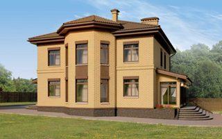 Проекты домов из кирпича 12х12 в Волгограде