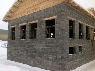 Строительство домов из арболита в Волгограде под ключ