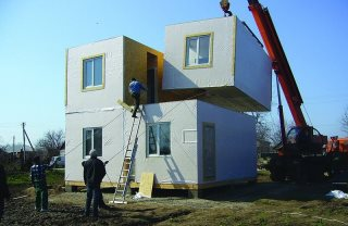 Строительство модульных домов в Волгограде под ключ