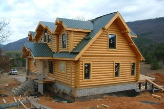 Строительство рубленых домов в Волгограде под ключ