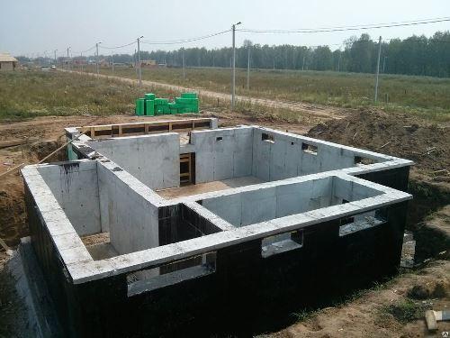 Строительство цокольного фундамент в Волгограде
