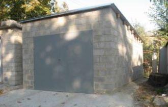 Строительство гаража из пеноблоков в Волгограде