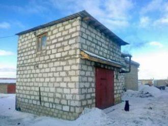 Строительство гаража из газобетона в Волгограде