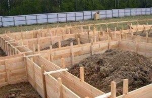Строительство ленточного фундамента в Волгограде