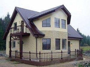 Фасадная отделка домов в Волгограде