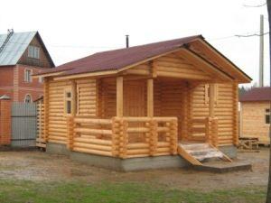 Строительство деревянных бань под ключ в Волгограде