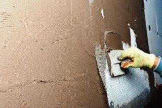 Фото процесса Штукатурка стен в Волгограде