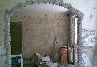 Фото процесса Перепланировка стен в Волгограде