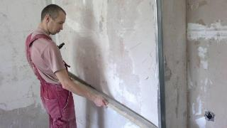 Фото процесса Выравнивание стен в Волгограде