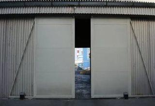Откатные ворота гаражные в Волгограде
