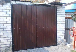Гаражные распашные ворота в Волгограде