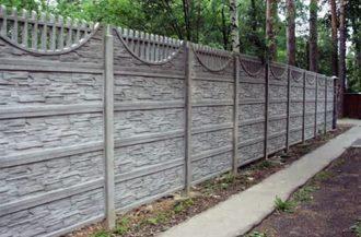 Бетонные заборы под ключ в Волгограде