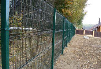 Забор из сетки гиттер (gitter) в Волгограде