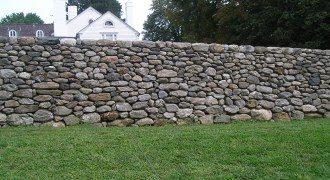 Забор из камня под ключ в Волгограде