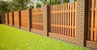 Деревянный забор под ключ в Волгограде