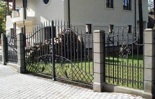 Ковано сварные заборы в Волгограде